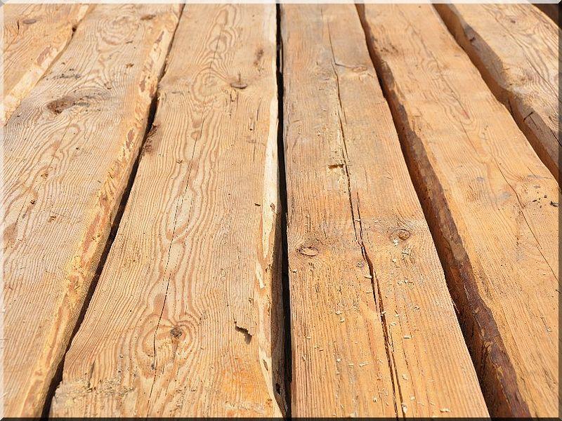 Bontott faanyagok, tetőfa