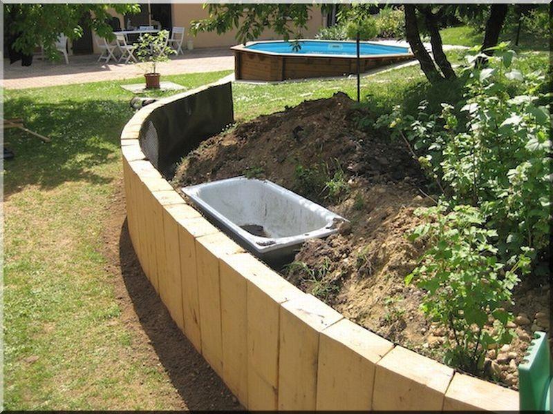 Mur De Soutenement En Bois Traite : de mur d?appui Dallages de terrasse Tuf Bois de chauffage Produits