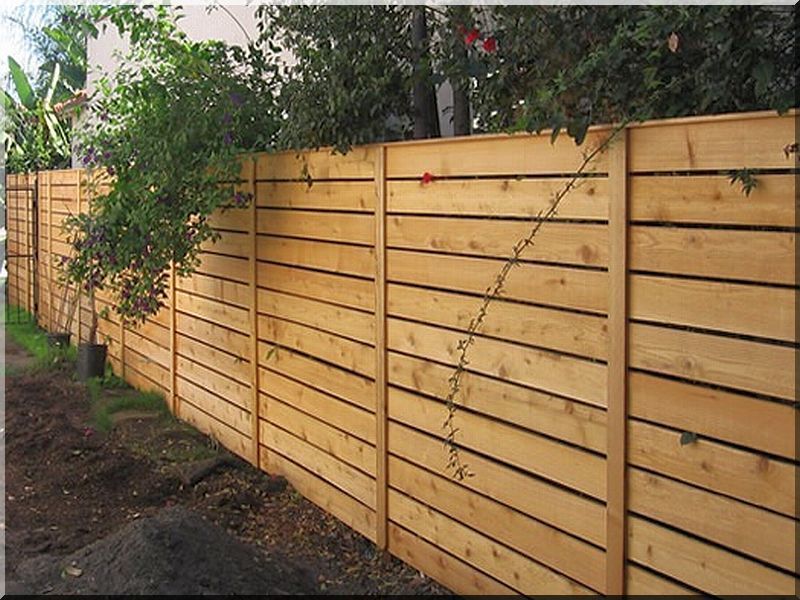 Pine fence element