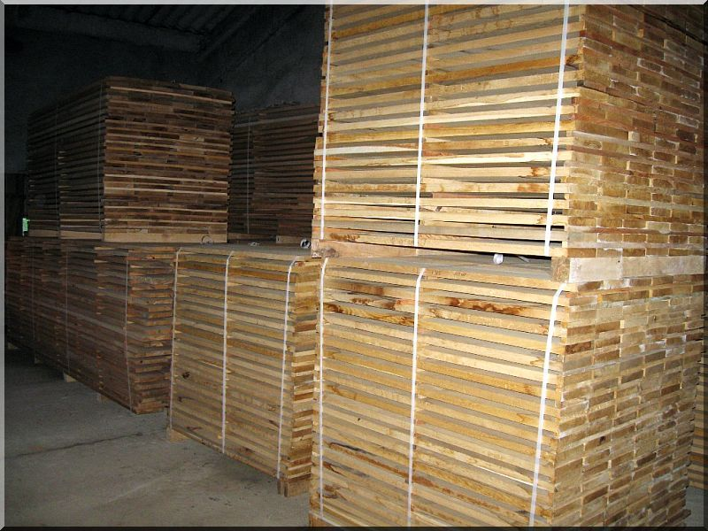 Tölgy fa fűrészáru