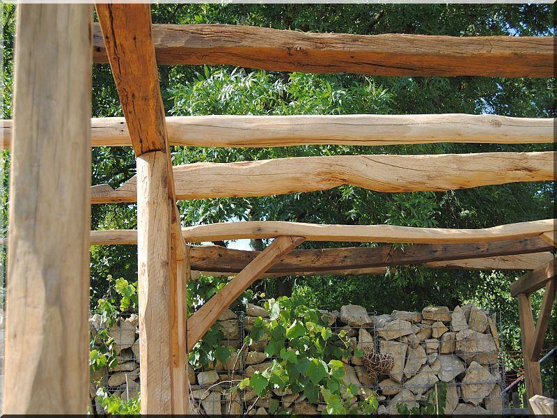Bontott gerenda, bontott épületfa feldolgozása