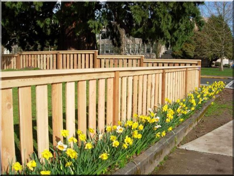 Fenyő deszka kerítések, kerítéselemek