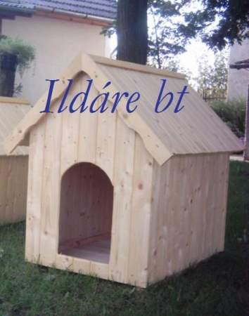 Fenyő lambéria kutyaház, IV- es méret -