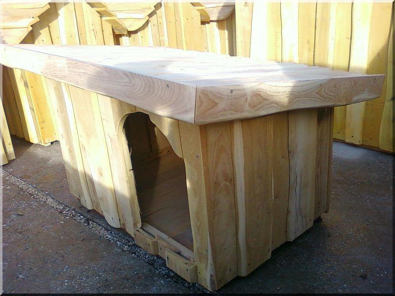 hundeh tte aus robinienbrettern rustikale hundeh tte garteneinfassung. Black Bedroom Furniture Sets. Home Design Ideas