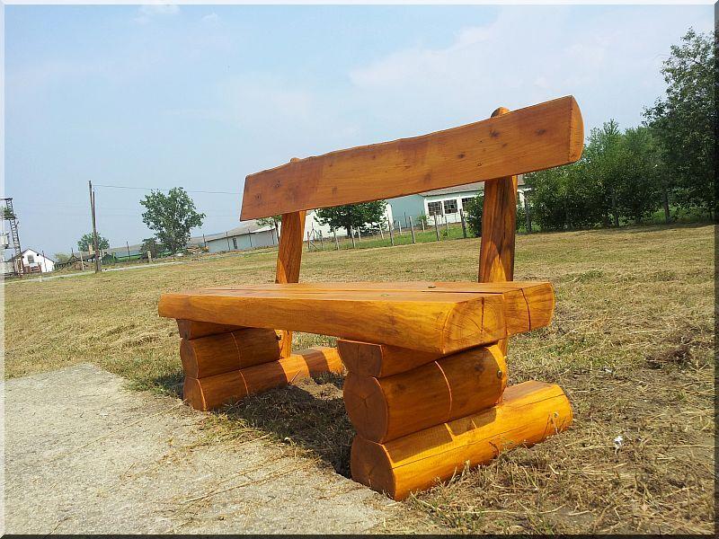 Sitzgarnitur Aus Wetterbestandigem Robinienholz