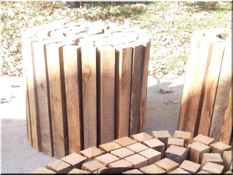 Fa ágyásszegély, 40 cm- es -