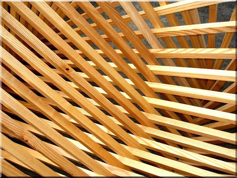 Installációk fából