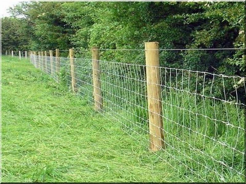 Dróthálós kerítések építése