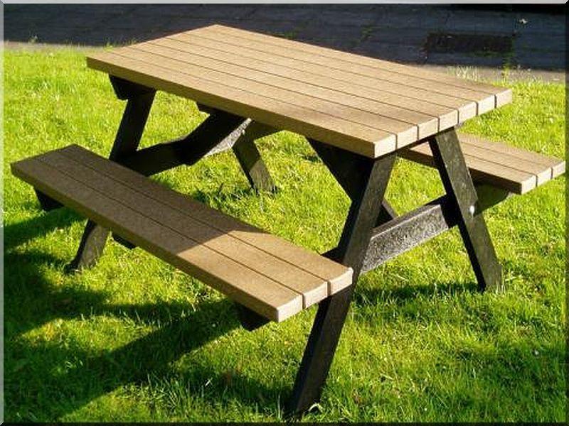 Piknik asztal -