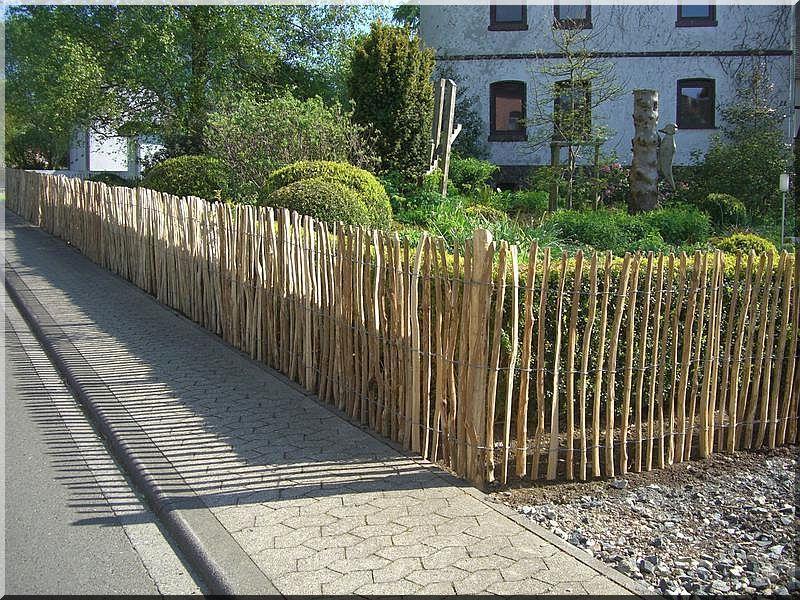 3 - 5 cm akác rusztikus kerítéselem