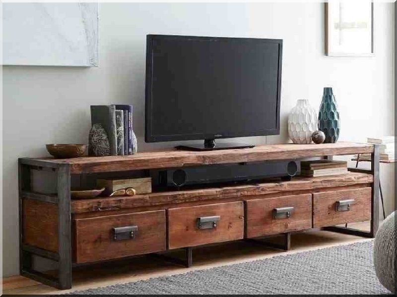 Industrial loft, tv asztal