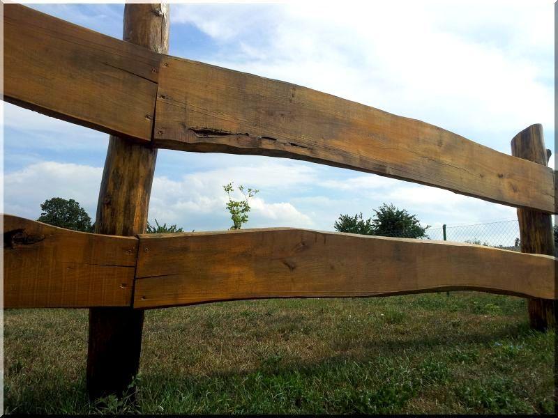 Tölgy kerítésdeszka