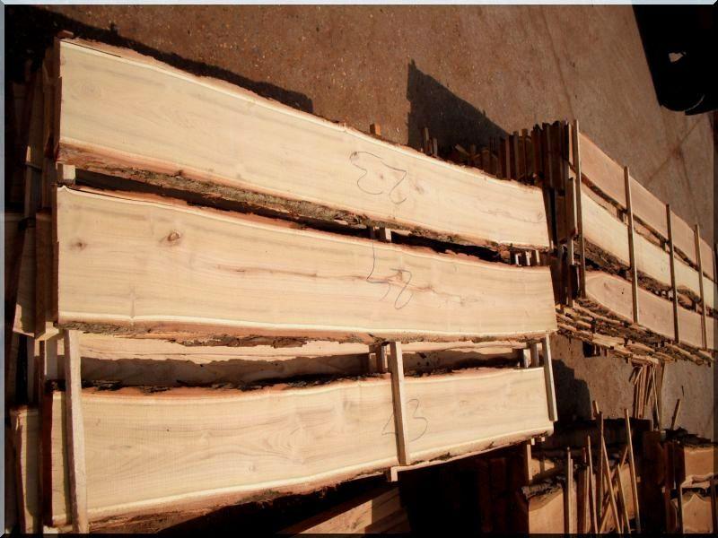 Akác deszka kerítésépítéshez (széles)