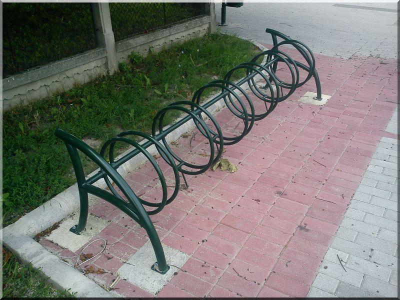 Veszprém biciklibeálló -