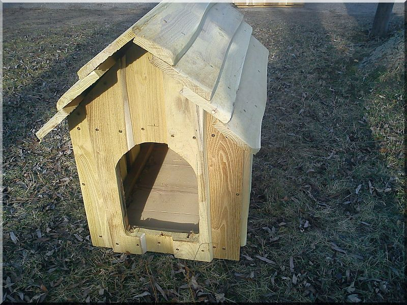 Akác kutyaház, II- es méret -